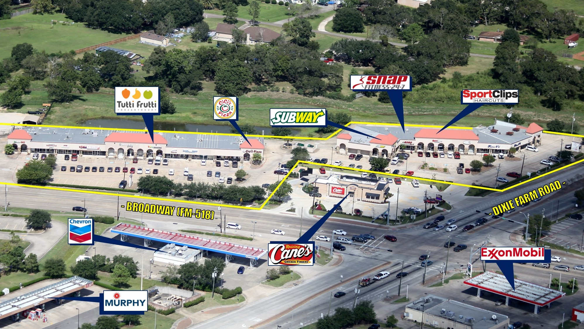 Pearland Corners Shopping Center
